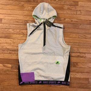 Nike Therma Sport Clash Mens Sleeveless Hooded